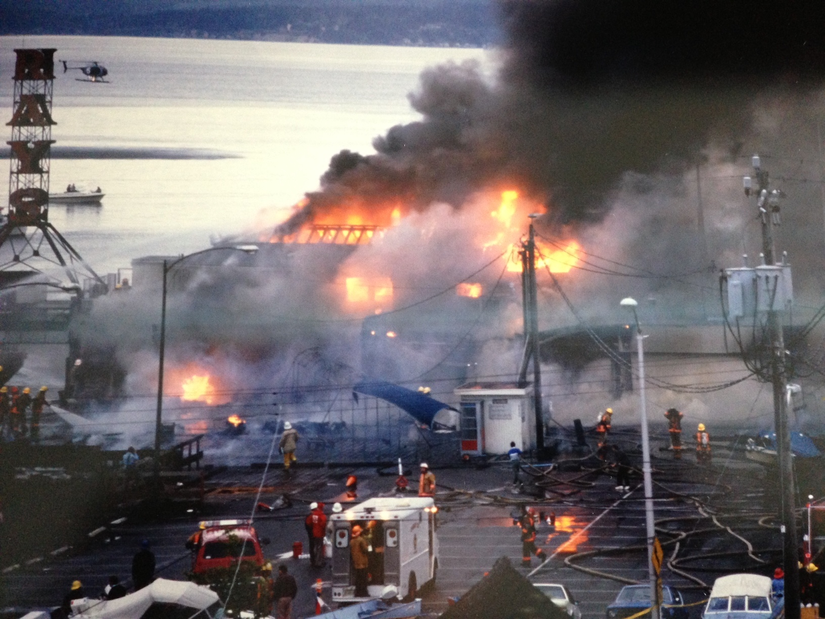 Fire Celebration At Ray's Boathouse To Commemorate 30 Years