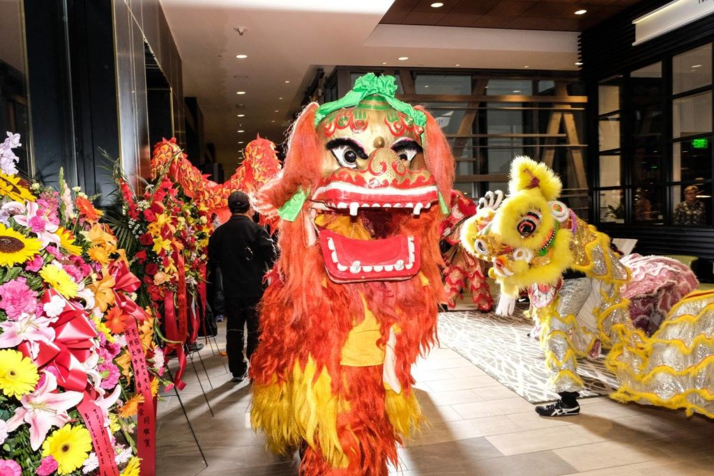 Lion Dance Costumes_Grand opening