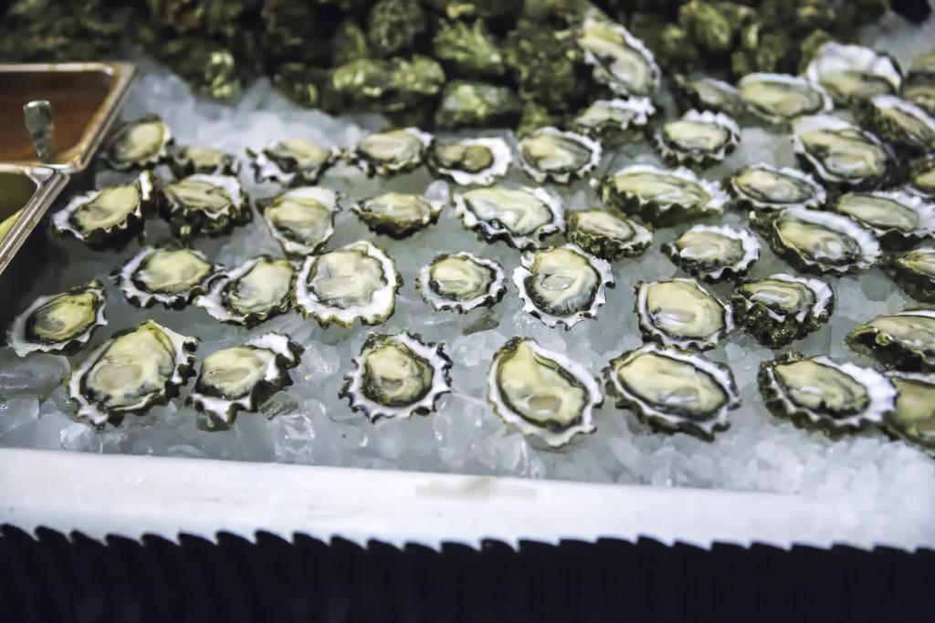 Oyster New Year Oyster bar_photo by Suzi Pratt