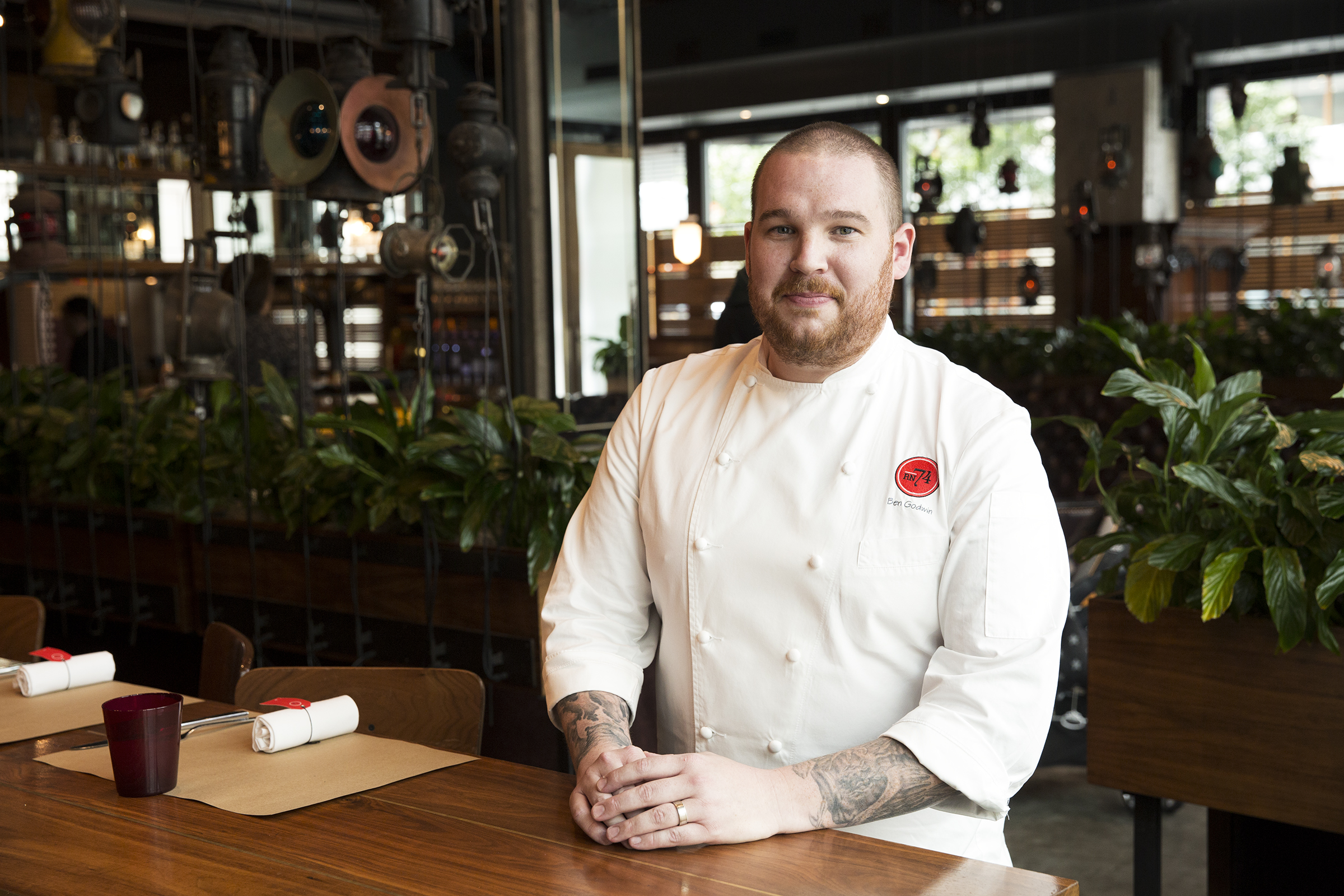 Rn74 Seattle Welcomes New Executive Chef Ben Godwin