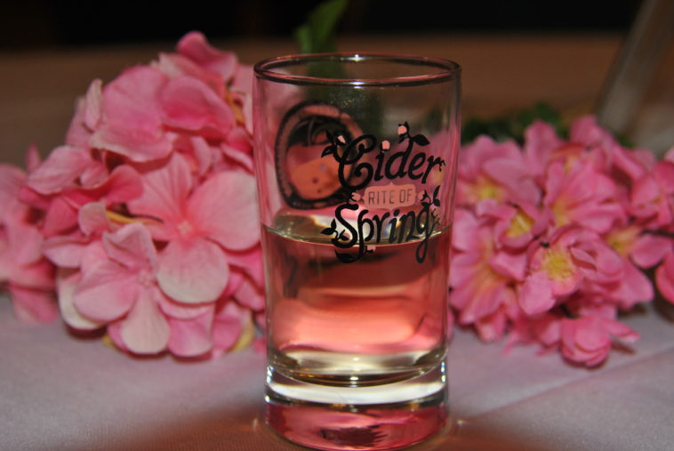 Cider Rite of Spring glass