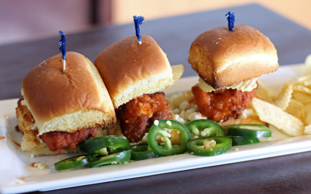 Buffalo Chicken Sliders for Doug_Rogue