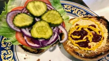 Burger Debate Condiments