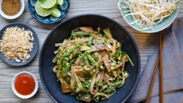 Thai Noodle Salad w- Lemongrass Tofu-145