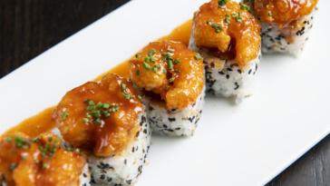 Shrimp Tempura Roll-squashed