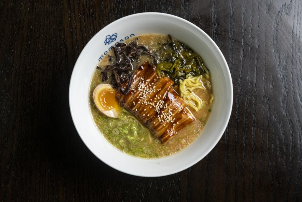 Tonkotsu ramen-squashed