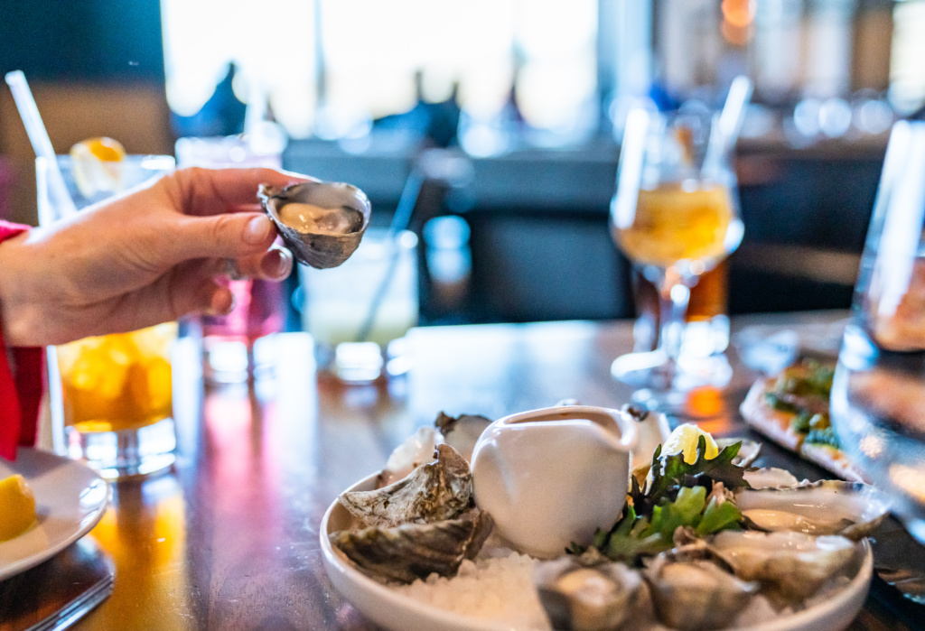 2019 Water's Table Oysters Courtesy of Shubha Tirumale Photography